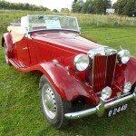 1950 MG TD Roaster