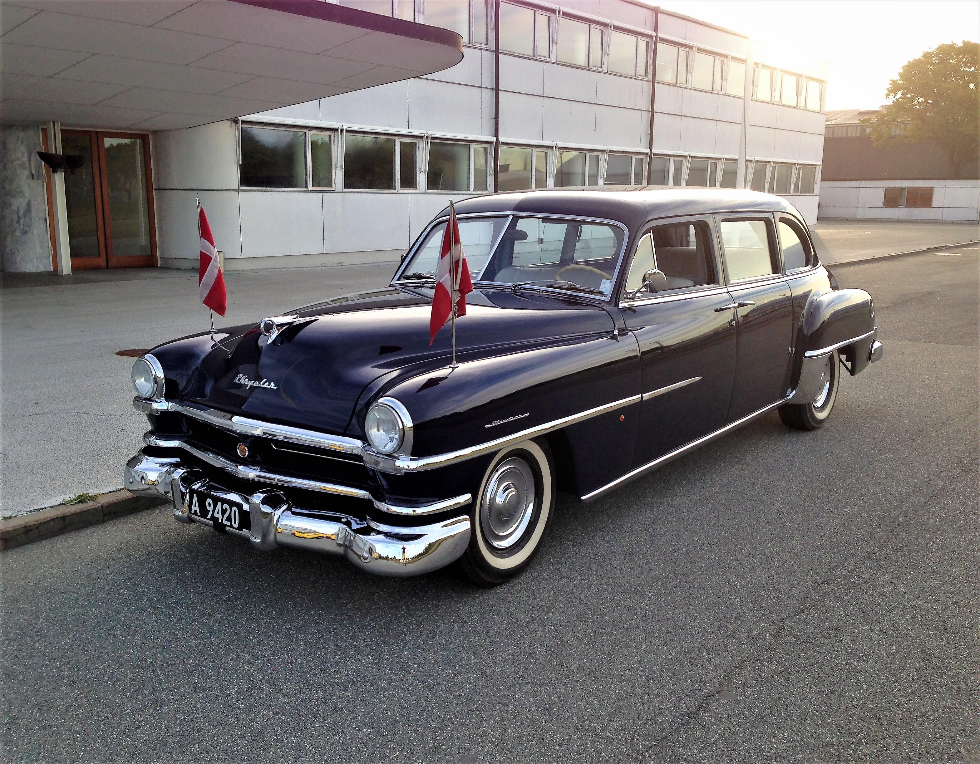 1952 Chrysler Windsor tilhørt Droning Alexandrine