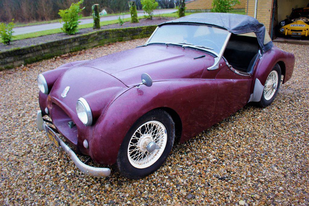 1953 Triumph TR2 Verdens ældste
