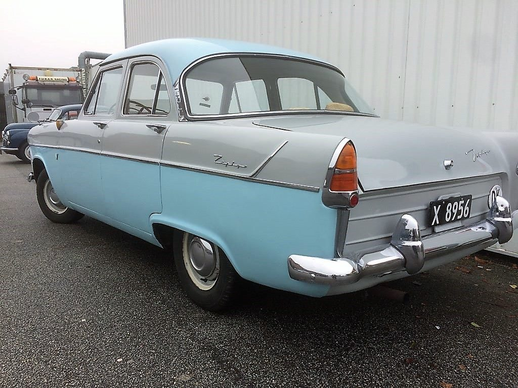 1958 Ford Zephyr Six