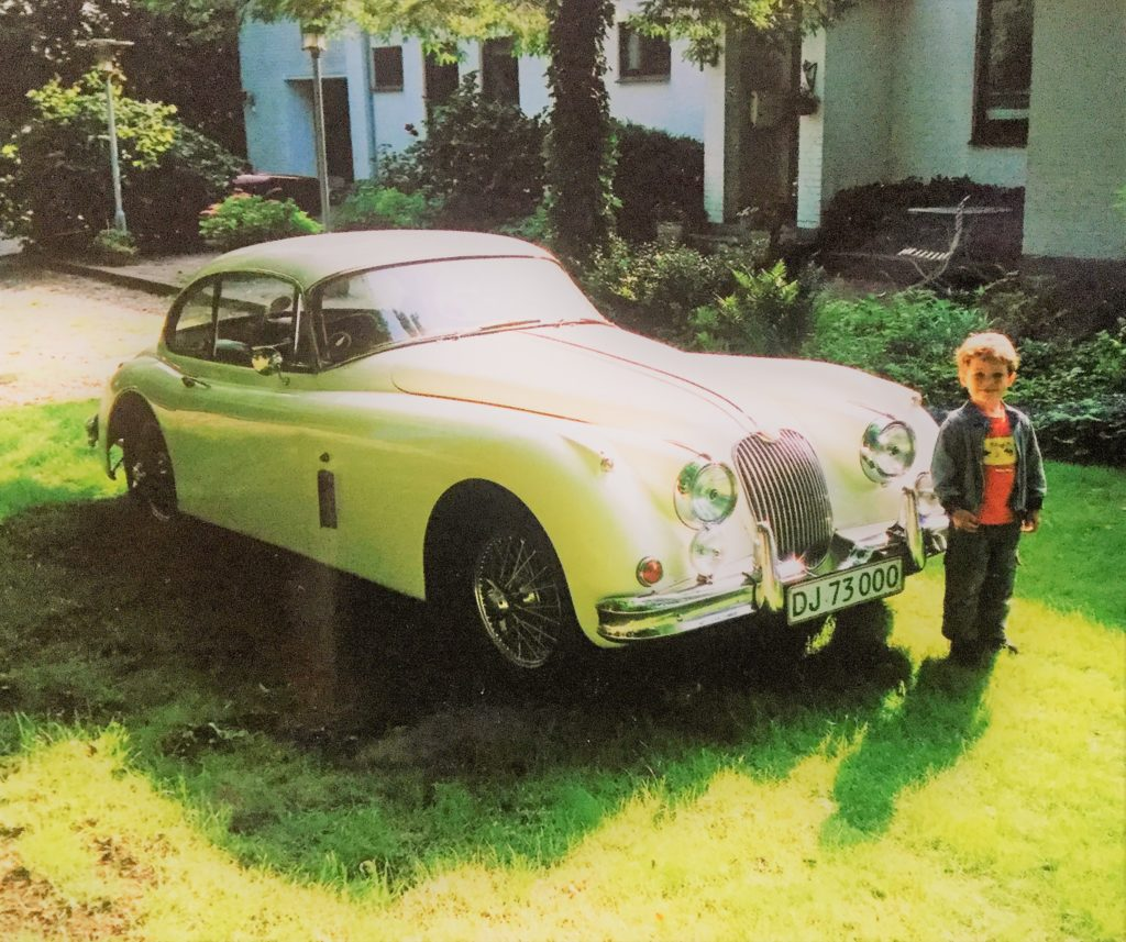 1958 Jaguar XK150 coupé