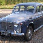 1960 Rover P4 100