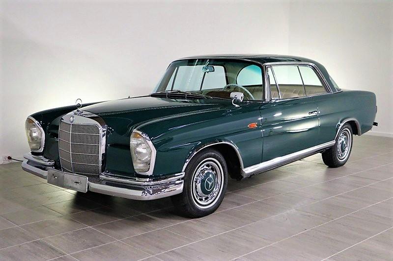 1962 Mercedes 220 SE 2,2 SEB COUPÉ