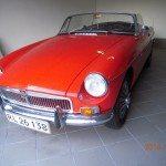 1963 MG B cabriolet