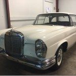 1963 Mercedes w111 Coupe