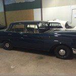 1965 Mercedes w111 Heckflosse