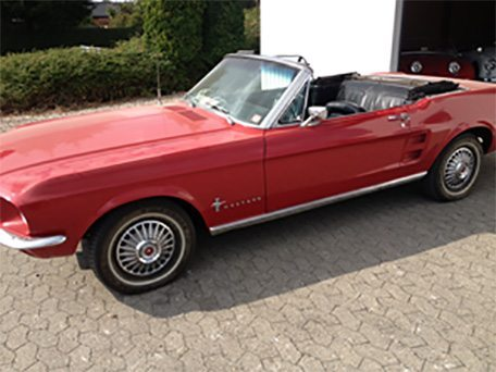 1967 Ford Mustang 3.2