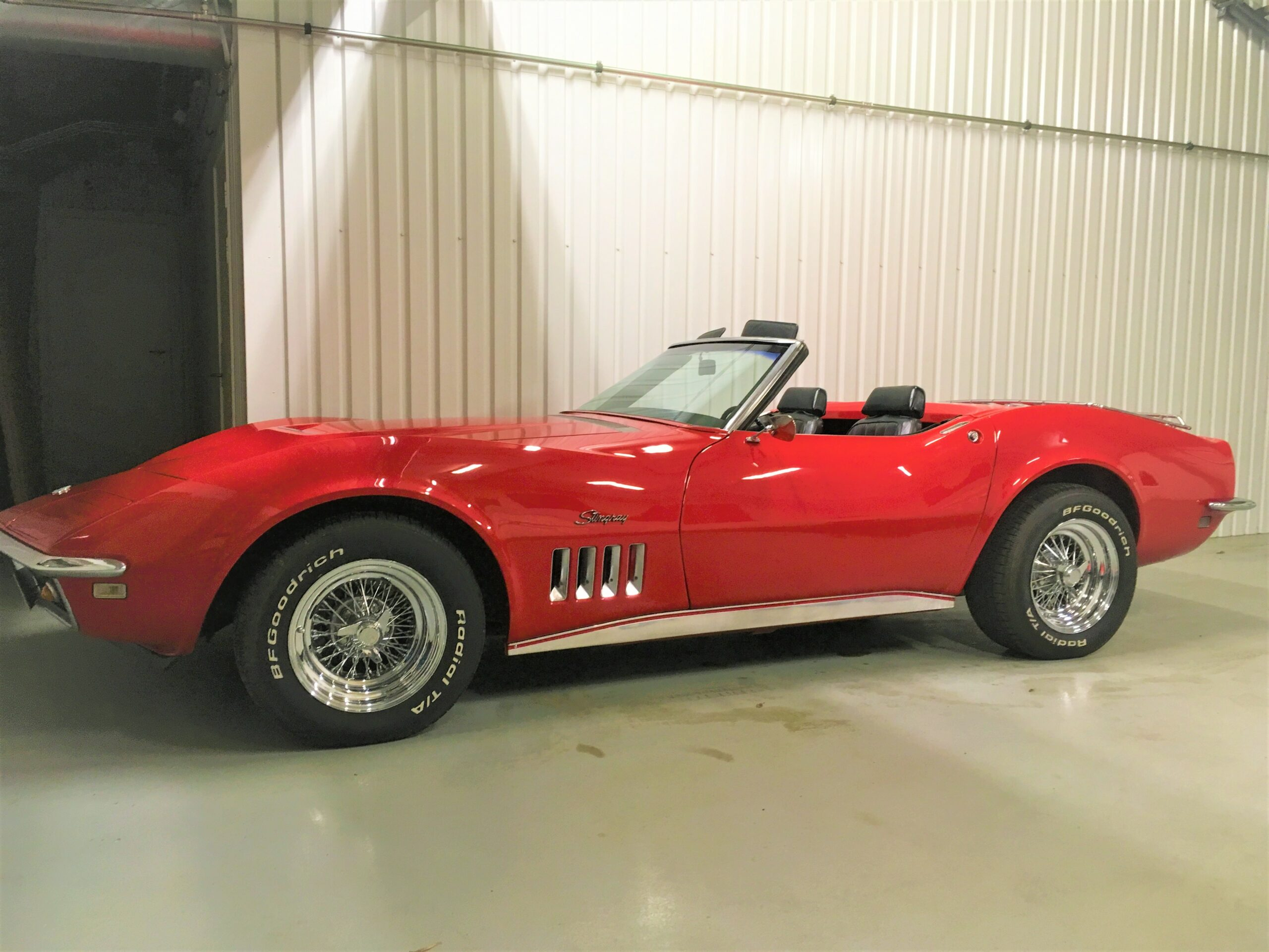 1968 Chevrolet Corvette cab