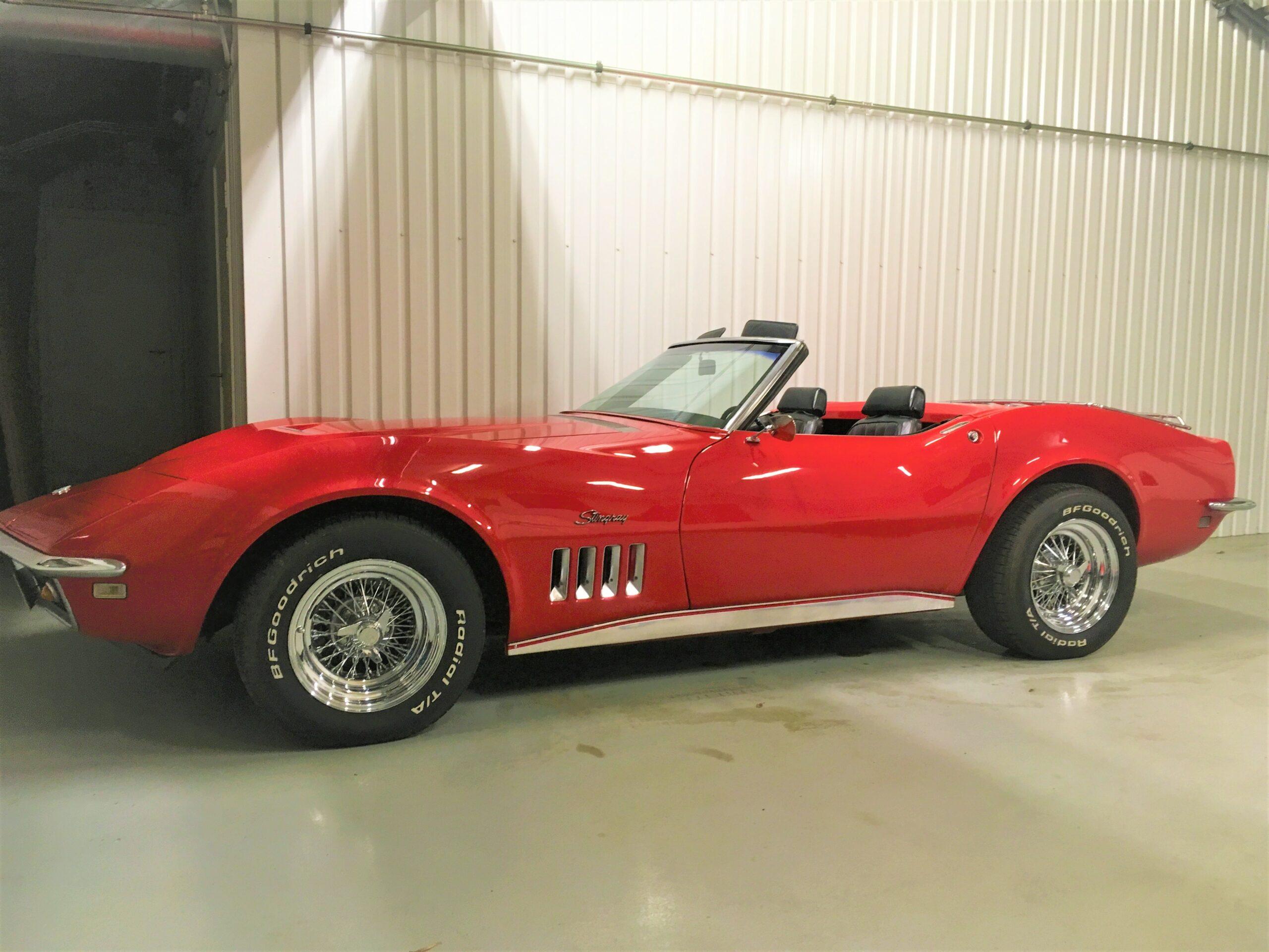 1968 Chevrolet Corvette cab