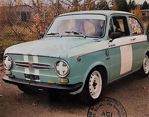 1969 Fiat 850 Special