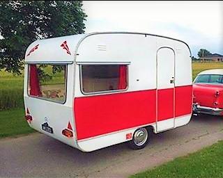 1969 Fleetwood campingvogn