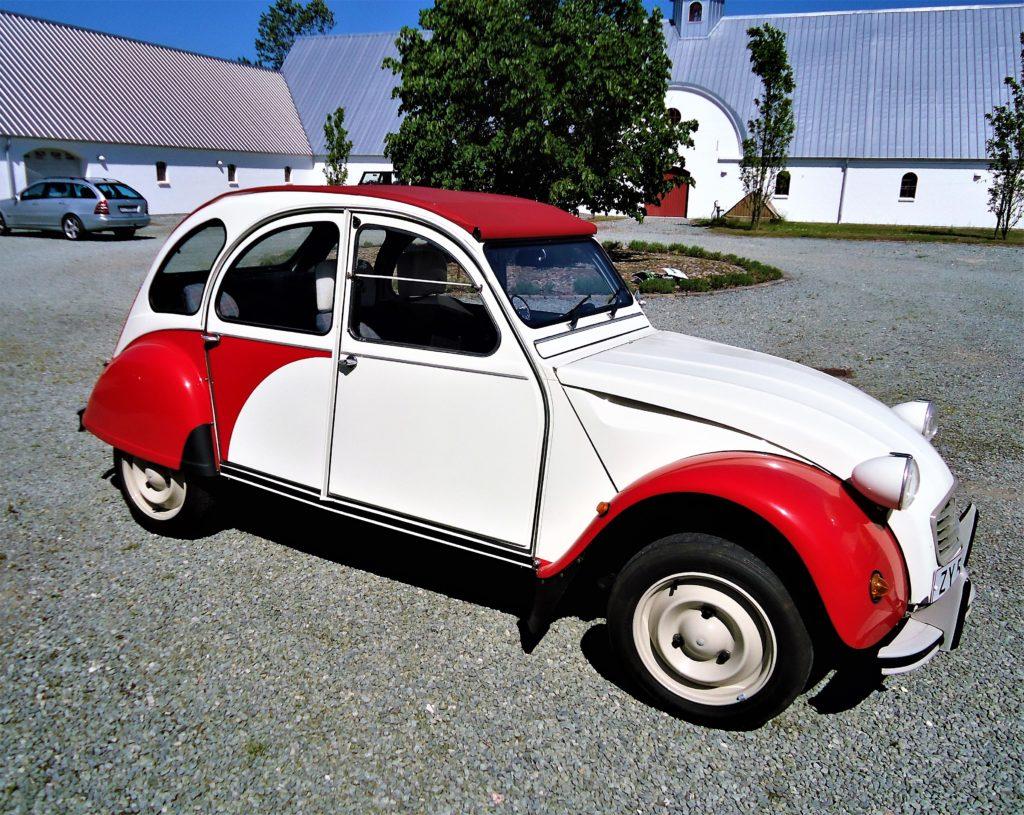 Citroën 2CV- kørt 2700 km