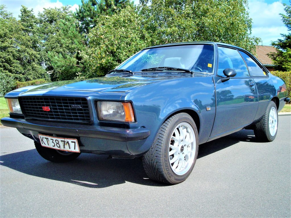1973 Opel Commodore B 2,5 Coupe. aut