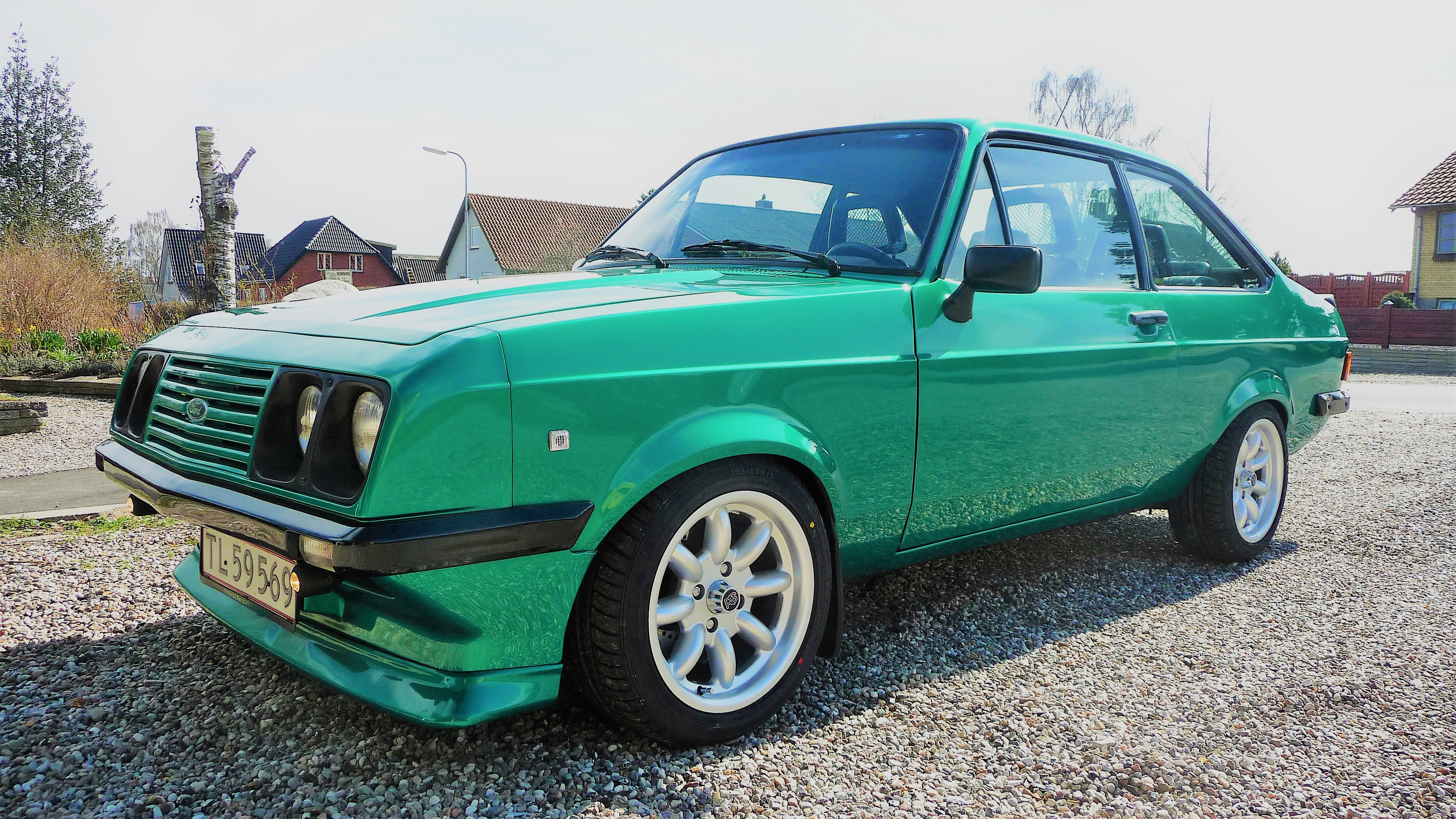 1976 Ford Escort Mk2 RS2000 front