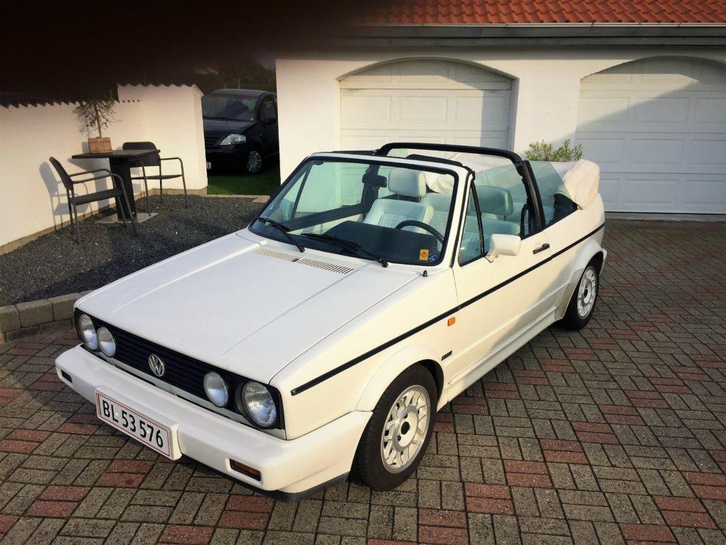1978 VW Golf cabriolet