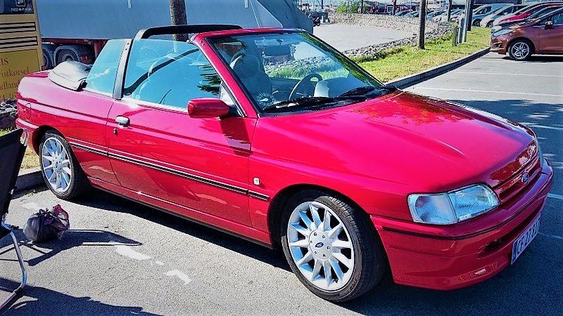 1993 Ford Escort mk5 cabriolet